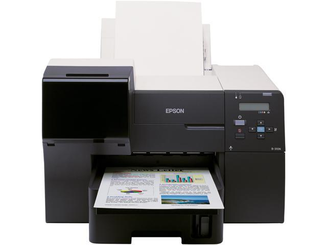 EPSON Business Inkjet B-310N C11CA67601 Up to 37 ppm Black Print Speed 5760 x 1440 dpi Color Print Quality InkJet Workgroup Color Printer