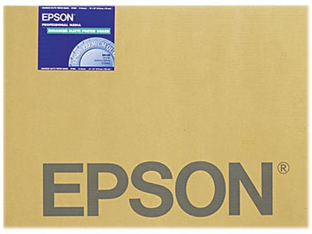 Epson Enhanced Matte 24 x 30 Poster Board, 10-Pieces (S041598)