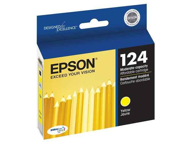 EPSON T124420-S Ink Cartridge Yellow
