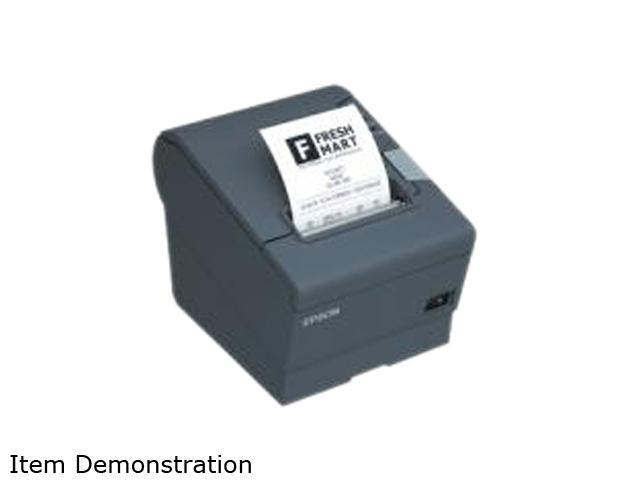 EPSON TM-T88V C31CA85A8710 Thermal Receipt Printer – USB & 802.11b Interface, Cable Not Included