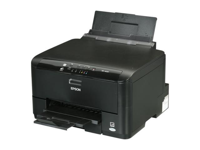 EPSON WorkForce Pro WP-4020 Up to 16 ppm Black Print Speed 4800 x 1200 dpi Color Print Quality Wireless MicroPiezo Inkjet Workgroup Color Printer