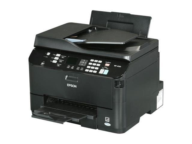 EPSON WorkForce Pro WP-4530 Up to 16 ppm Black Print Speed 4800 x 1200 dpi Color Print Quality Wireless MicroPiezo inkjet MFC / All-In-One Color Printer