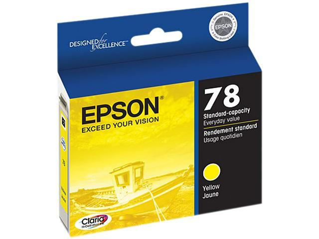 EPSON T078420-S Ink Cartridge Yellow