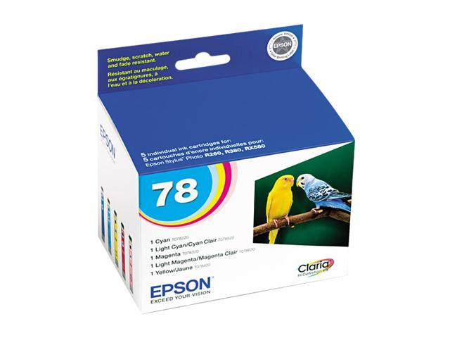 EPSON T078920-S Ink Cartridges Multi-Pack 5 Colors
