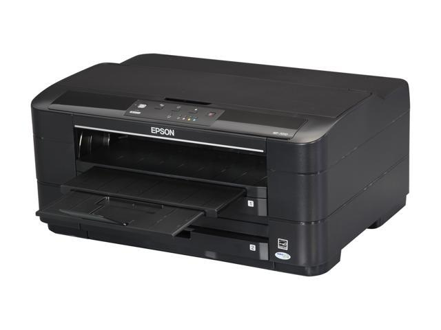 EPSON WorkForce WF-7010 15 ISO ppm Black Print Speed 5760 x 1440 dpi Color Print Quality InkJet Large Format Color Printer