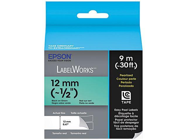EPSON LC-4GBL9 LabelWorks Pearlized LC Tape Cartridge ~1/2