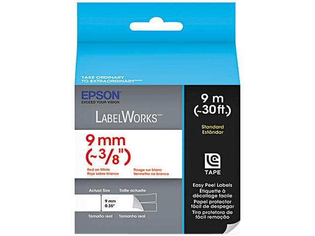 EPSON LC-3WRN9 LabelWorks Standard LC Tape Cartridge ~3/8