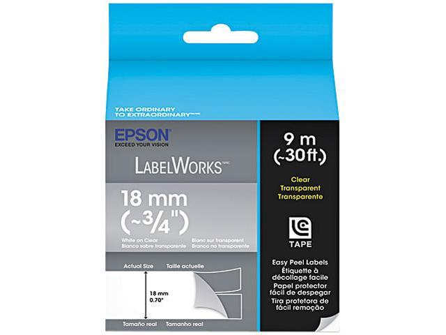 EPSON LC-5TWN9 LabelWorks Clear LC Tape Cartridge ~3/4