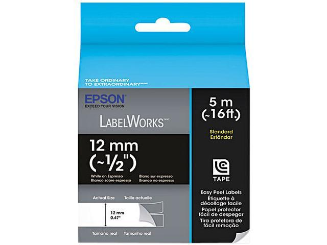 EPSON LC-4NWT5 LabelWorks Standard LC Tape Cartridge ~1/2