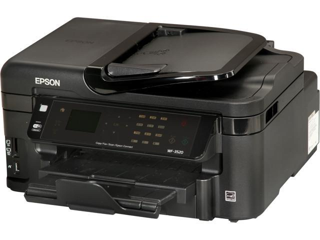 EPSON WorkForce WF-3520 Wireless InkJet MFC / All-In-One Color Printer