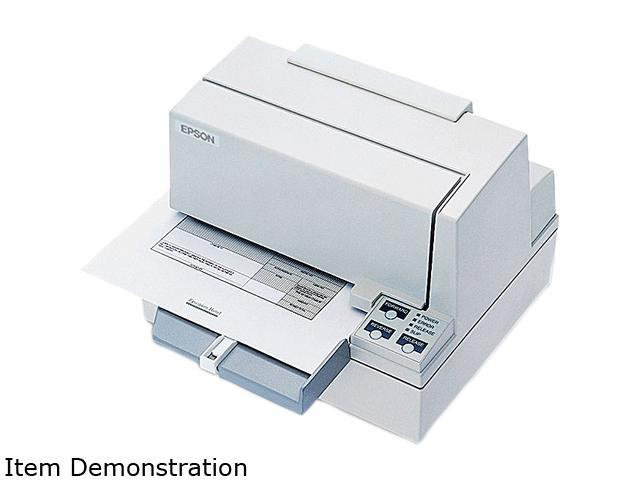 Epson C31C196A8981 TM-U590 POS Dot Matrix Slip Printer - USB, White (power supply sold separately)