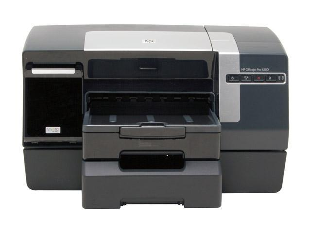 HP Officejet K550dtn C8158A Up to 37 ppm Black Print Speed Up to 4800 x 1200 dpi Color Print Quality InkJet Workgroup Color Printer