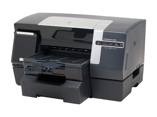 HP Officejet Pro K550dtwn C8159A Up to 37 ppm Black Print Speed 4800 x 1200 dpi Color Print Quality Wireless InkJet Workgroup Color Printer