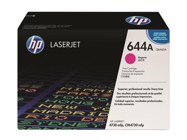 HP 644A Magenta LaserJet Toner Cartridge (Q6463A)