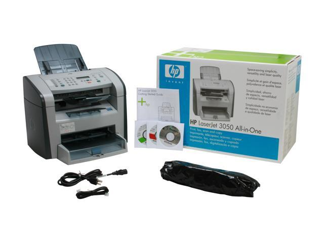 HP LaserJet 3050 Q6504A MFC / All-In-One Up to 19 ppm Monochrome Laser Printer