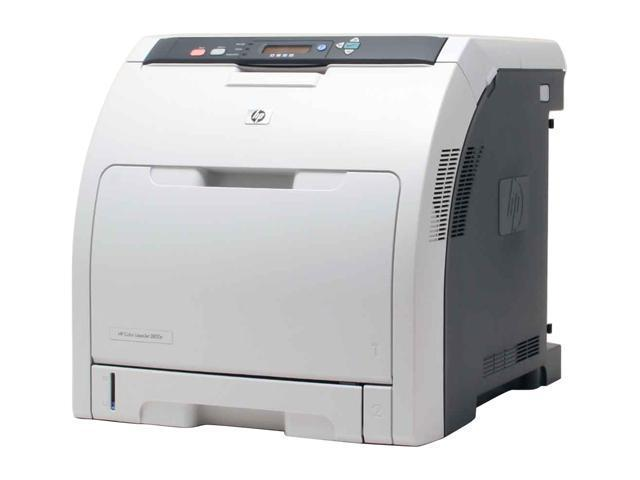 HP Color LaserJet 3800N Q5982A Workgroup Up to 22 ppm 600 x 600 dpi Color Print Quality Color Laser Printer