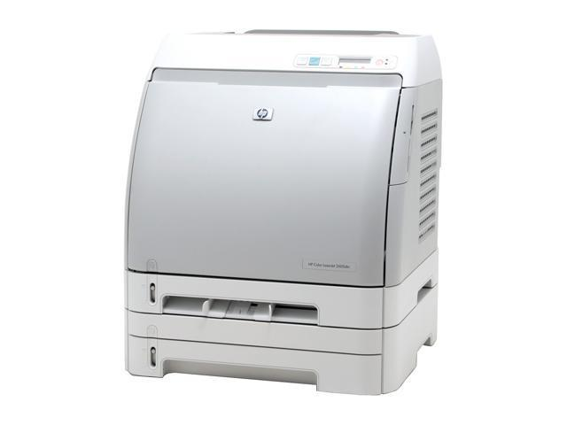 HP Color LaserJet 2605dtn Q7823A Workgroup Up to 12 ppm 600 x 600 dpi Color Print Quality Color Laser Printer