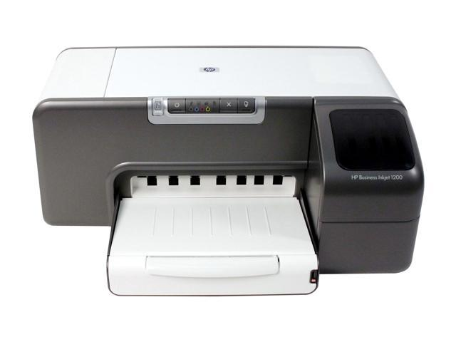 HP Business Inkjet 1200 C8154 28 ppm Black Print Speed 4800 x 1200 dpi Color Print Quality InkJet Personal Color Printer