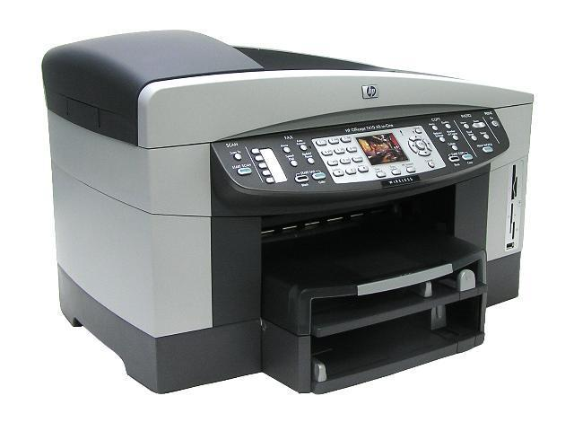 HP Officejet 7410 Q5569A 30 ppm Black Print Speed 4800 x 1200-optimized dpi Color Print Quality Wireless HP Thermal Inkjet MFC / All-In-One Color Printer