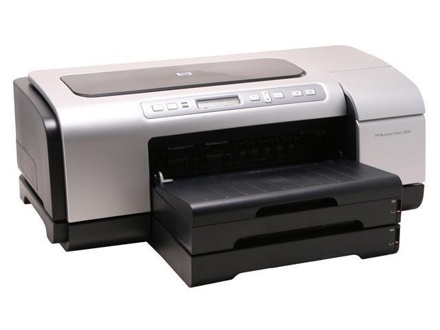HP Business Inkjet 2800dt C8163A Up to 24 ppm Black Print Speed Up to 4800 x 1200 optimized dpi on premium photo paper Color Print Quality InkJet Personal Color Printer