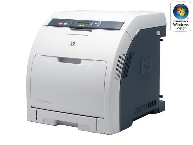 HP Color LaserJet 3600dn Q5988A Workgroup Up to 17 ppm 600 x 600 dpi Color Print Quality Color Laser Printer