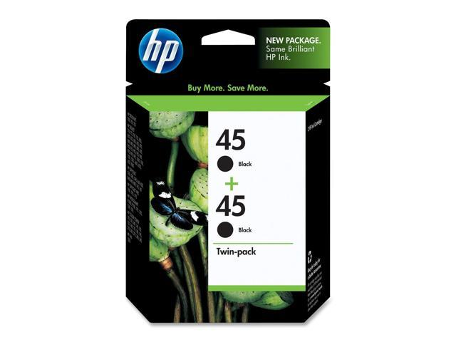 HP C6650FN#140 45 Twinpack Inkjet Print Cartridge Black