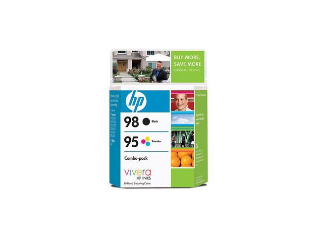 HP HP 95/98 (CB327FN) 95/98 Inkjet Print Cartridge Combo Pack Black/Color