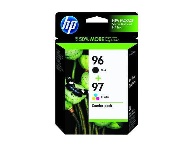HP 96/97 Black/Color Inkjet Print Cartridge Combo Pack with Vivera Ink (C9353FN#140)