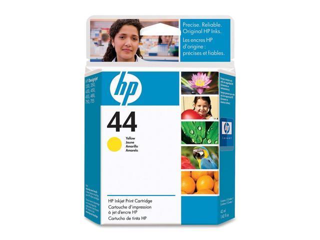 HP HP 44 (51644Y) 44 Inkjet Print Cartridge Yellow