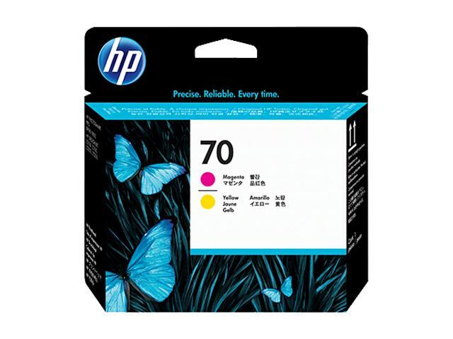 HP 70 C9406A Printheads Magenta and Yellow
