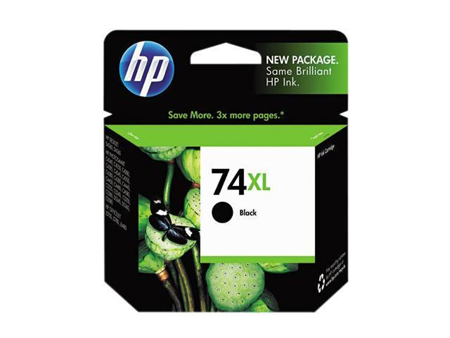 HP 74XL CB336WN#140 Ink Print Cartridge Black