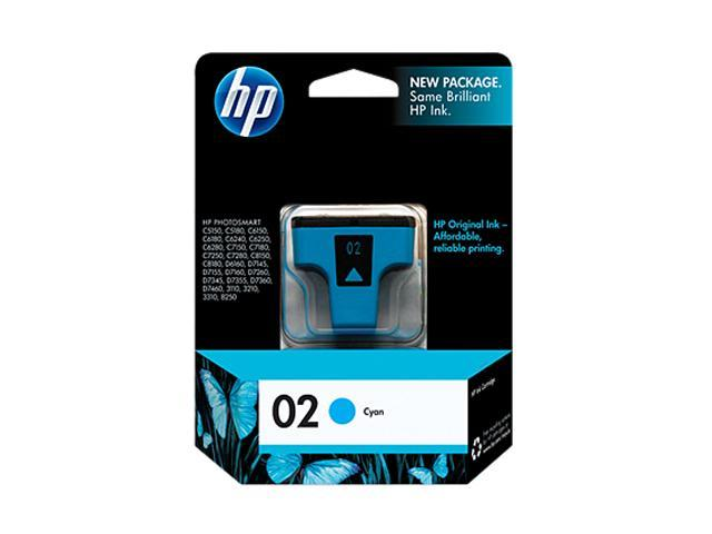 HP C8771WN#140 02 Ink Cartridge Cyan