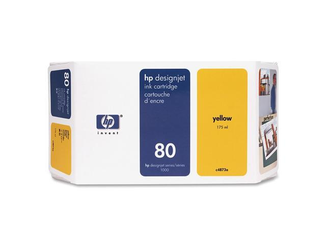 HP 80 Yellow Ink Cartridge (C4848A)