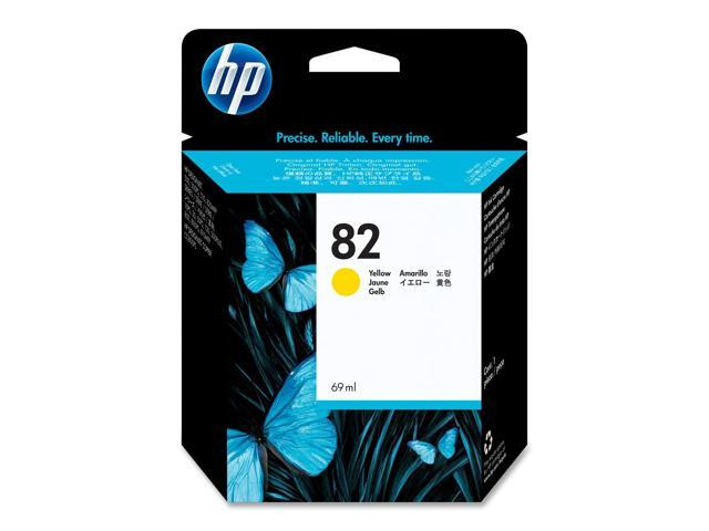 HP C4913A Cartridge For HP Designjet 120, 500, 500ps, 800, 800ps. 10ps, 20ps, and 50ps Printers Yellow