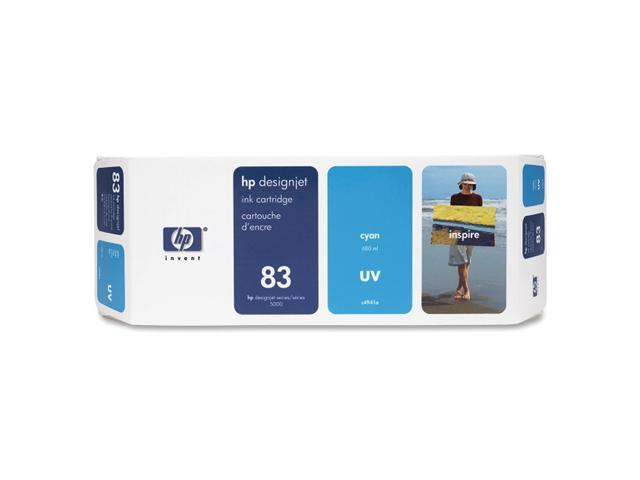 HP 83 Cyan UV Ink Cartridge (C4941A)