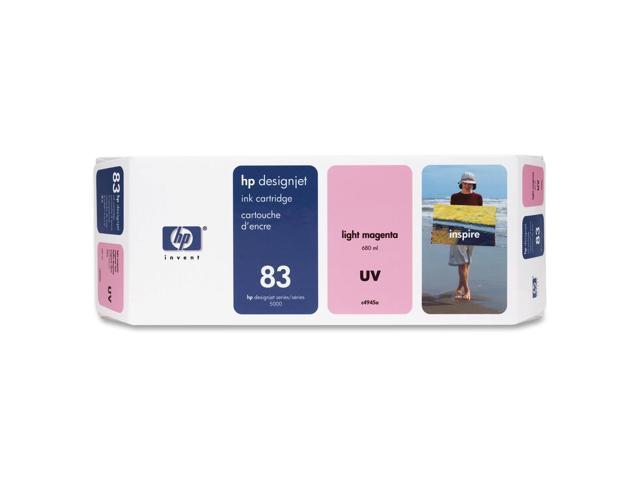 HP 83 680-ml Light Magenta UV Ink Cartridge (C4945A)