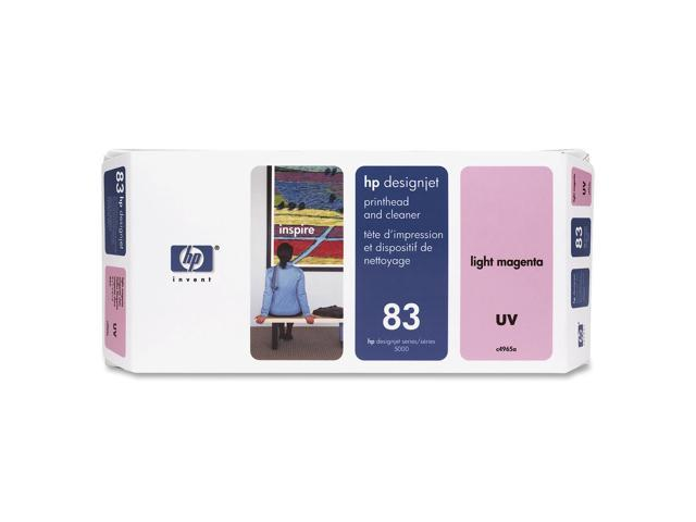 HP 83 (C4965A) Printhead and Printhead Cleaner For HP Designjet 5000 and 5500 Printer series Light Magenta