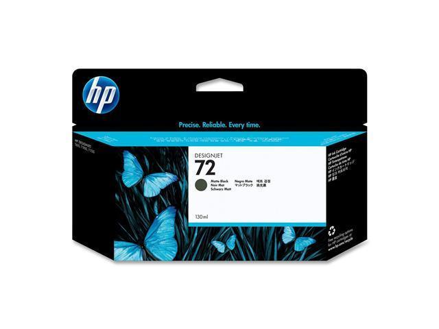 HP 72 (C9403A) 130ml Ink Cartridge, High Yield; Matte Black