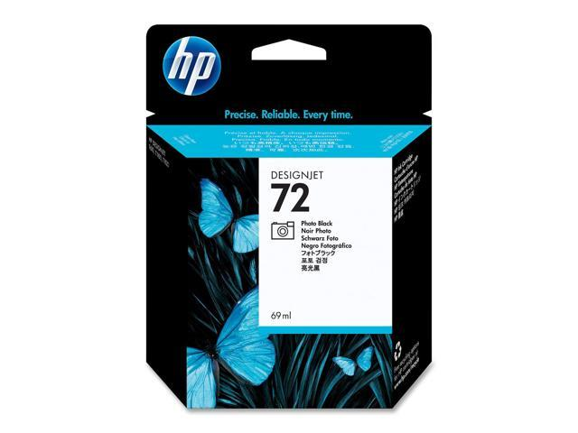 HP 72 69ml  Ink Cartridge (C9397A) for DesignJet T1100, T1120, T1200, T1300, T610, T620, T770, T790 - Black Photo