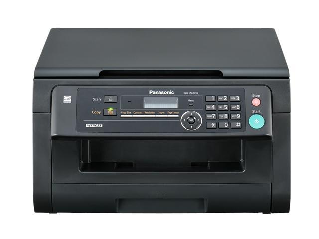 Panasonic KX-MB2000 MFC / All-In-One Up to 24 ppm 600 x 600 dpi Color Print Quality Monochrome Laser Printer