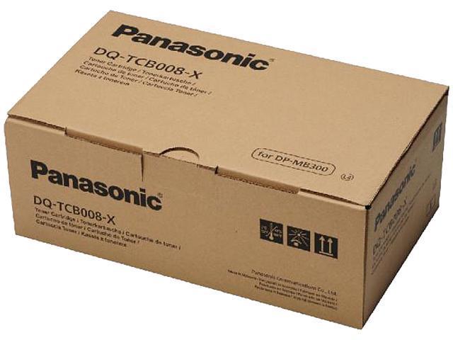 Panasonic DQTCB008C Toner Cartridge 8000 Pages Yield; Black