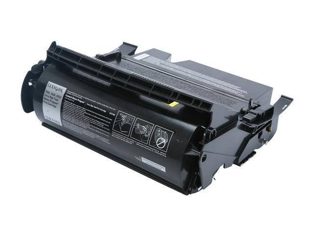 Lexmark 12A7465 T632/T634   Print Cartridges; black 32,000 page yield (Return Program)