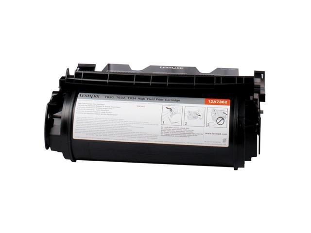 LEXMARK 12A7468 High Yield Return Program Print Cartridge for Label Applications Black