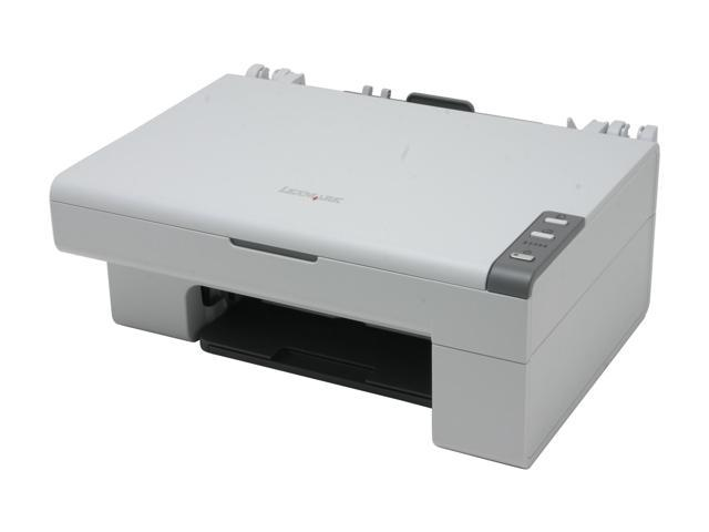 LEXMARK X series X2350 19M0000 Up to 15 ppm Black Print Speed Up to 4800 x 1200 dpi Color Print Quality InkJet MFC / All-In-One Color Printer