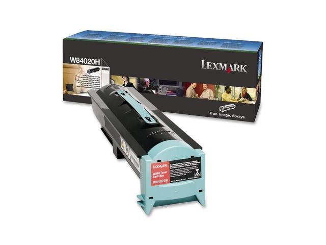 Lexmark W84020H High Yield Toner Cartridge - Black