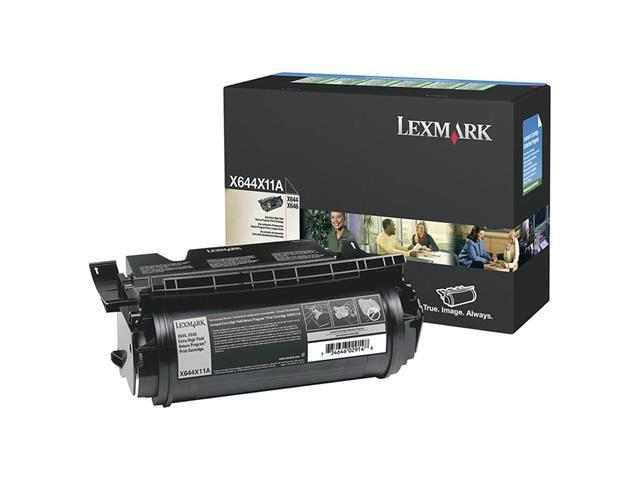 LEXMARK X644X11A X644e, X646e Extra High Yield Return Program Print Cartridge Black