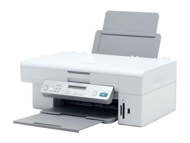 LEXMARK X series X3470 22P0000 Up to 17 ppm Black Print Speed 4800 x 1200 dpi Color Print Quality Thermal Inkjet MFC / All-In-One Color Printer