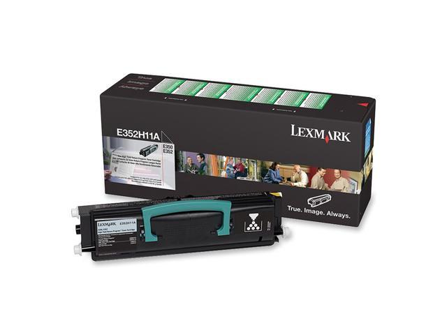 LEXMARK E352H11A High Yield Return Program Toner Cartridge For E350, E352 Black