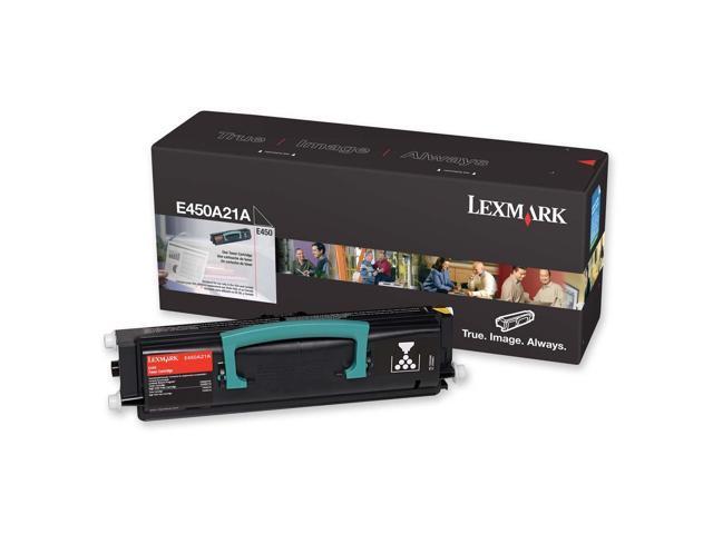 LEXMARK E450H21A High Yield Toner Cartridge For E450dn Black