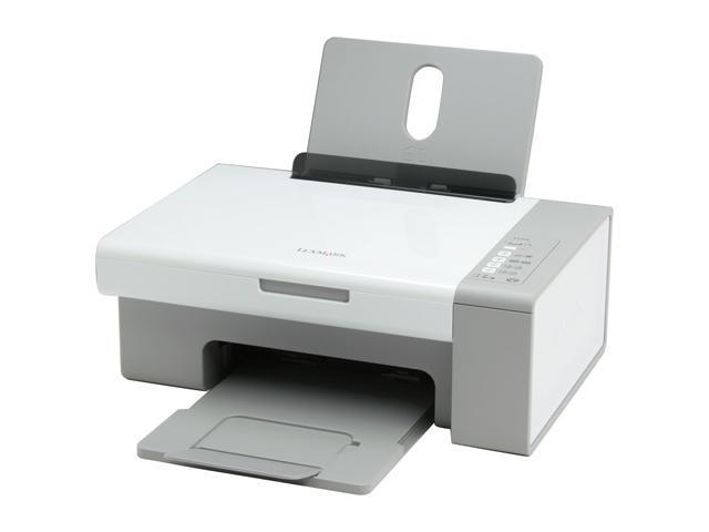 LEXMARK X2500 21A0500 22 ppm Black Print Speed Up to 4800 x 1200 dpi Color Print Quality InkJet MFC / All-In-One Color Printer